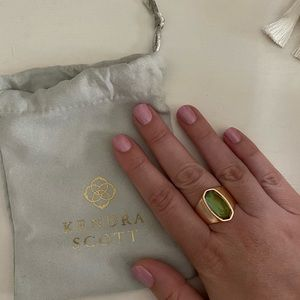 Kendra Scott rose gold Mood Ring